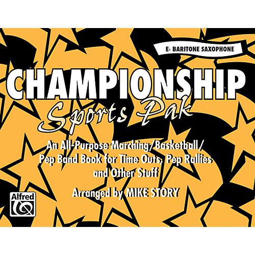 Alfred Championship Sports Pak E-Flat Baritone Saxophone-thumbnail