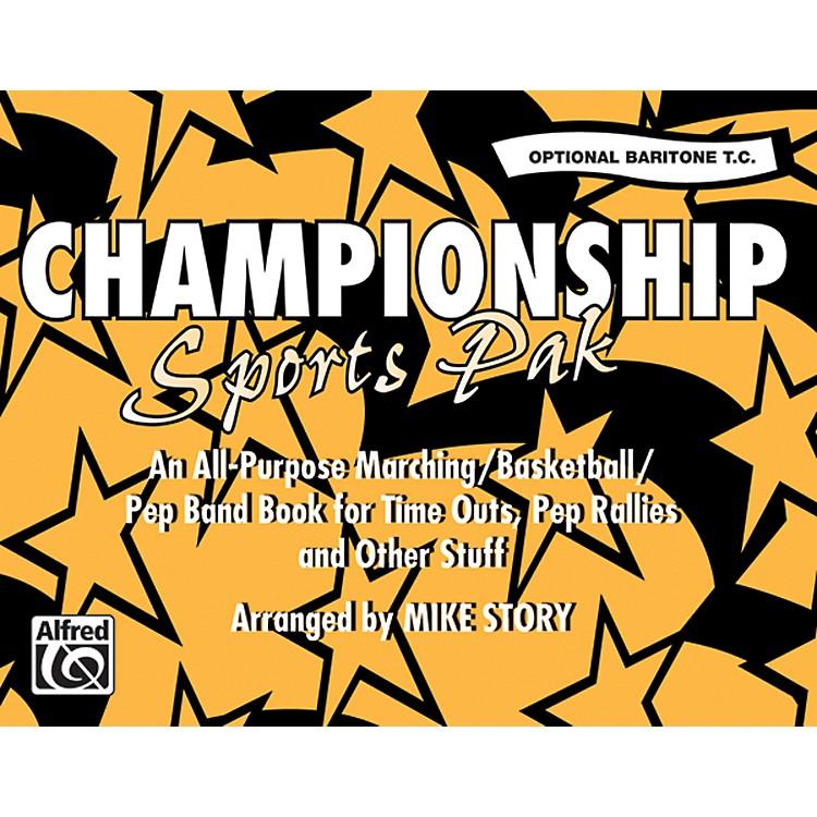 AlfredChampionship Sports Pak Opt. Baritone T.C.