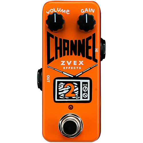 ZVex Channel 2 Overdrive Guitar Effects Pedal-thumbnail