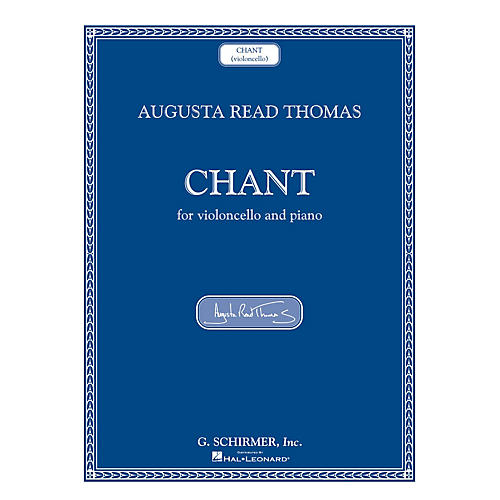 G. Schirmer Chant (Violoncello and Piano) String Series Softcover-thumbnail