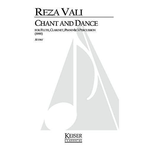 Lauren Keiser Music Publishing Chant and Dance (for 6 Players) LKM Music Series Composed by Reza Vali