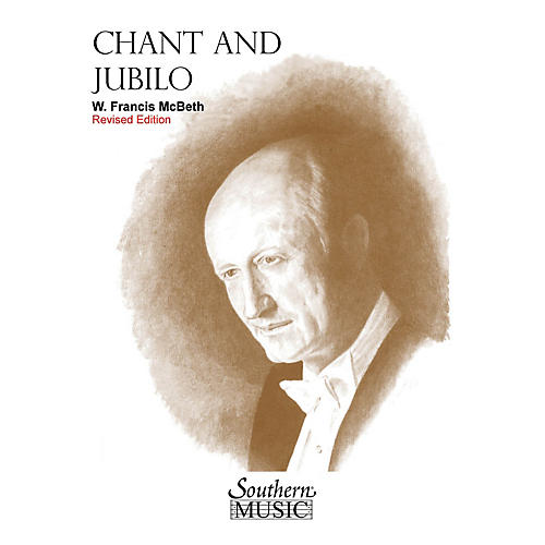 Southern Chant and Jubilo (2nd Edition) Concert Band Level 3 Composed by W. Francis McBeth-thumbnail