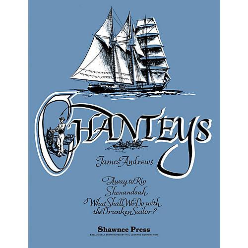 Hal Leonard Chanteys Concert Band Level 3 Arranged by James Andrews-thumbnail
