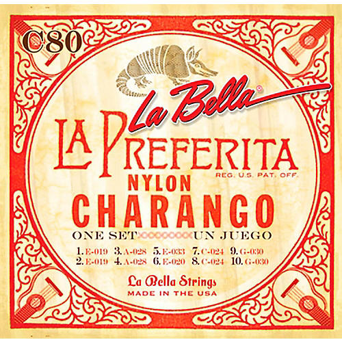LaBella Charango Strings-thumbnail