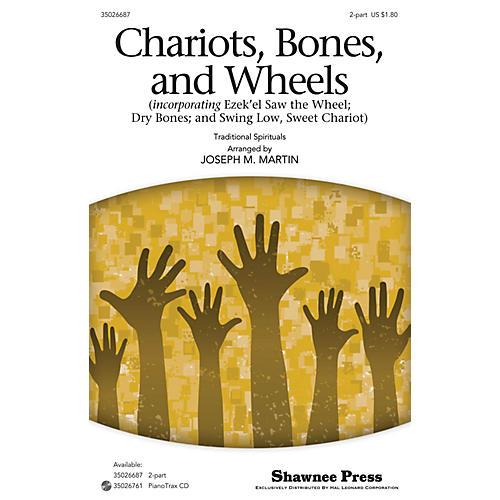Shawnee Press Chariots, Bones, and Wheels 2-Part by Joseph M. Martin