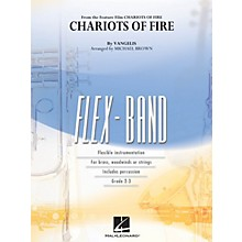 Hal Leonard Chariots of Fire Concert Band Level 2-3 by Vangelis Arranged by Michael Brown
