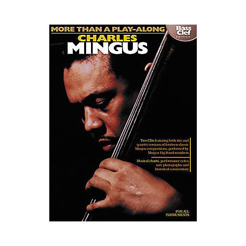 Hal Leonard Charles Mingus - More Than a Play-Along Bass Clef (Book/CD)-thumbnail