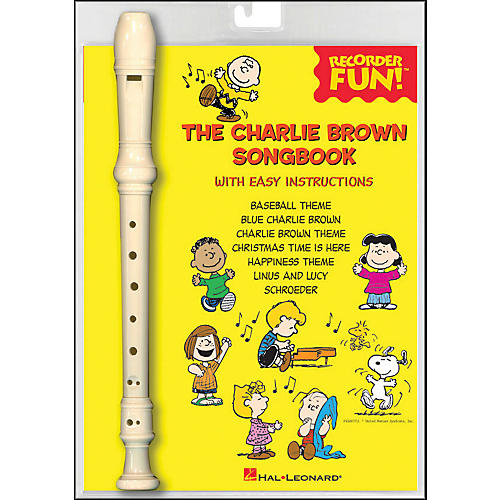 Hal Leonard Charlie Brown Songbook for Recorder-thumbnail