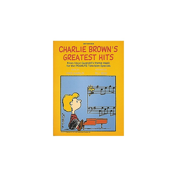 Hal Leonard Charlie Brown's Greatest Hits For Easy Piano by Dan Fox