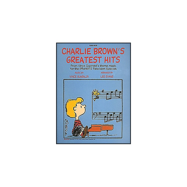 Hal Leonard Charlie Brown's Greatest Hits Piano Solos