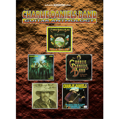 Alfred Charlie Daniels Guitar Anthology (Tablature)