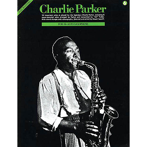 Music Sales Charlie Parker - Jazz Masters Series Music Sales America Series Performed by Charlie Parker-thumbnail
