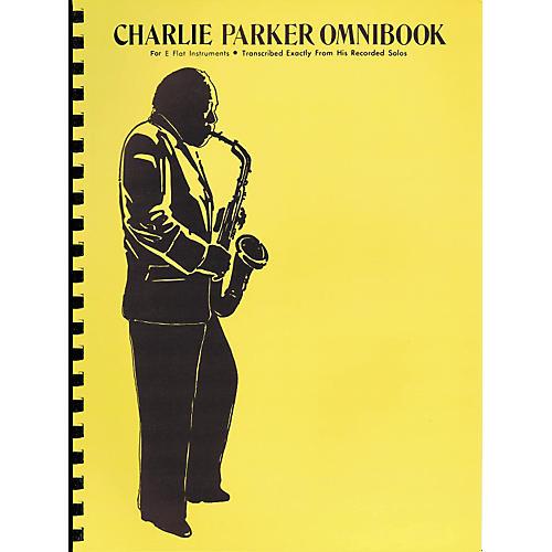 Hal Leonard Charlie Parker Omnibook for E Flat Instruments-thumbnail