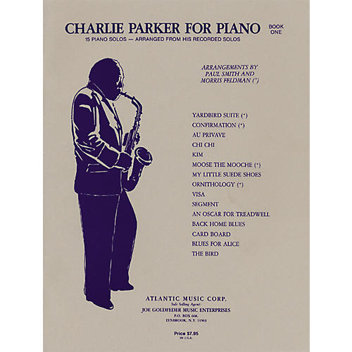 Alfred Charlie Parker for Piano, Book One-thumbnail