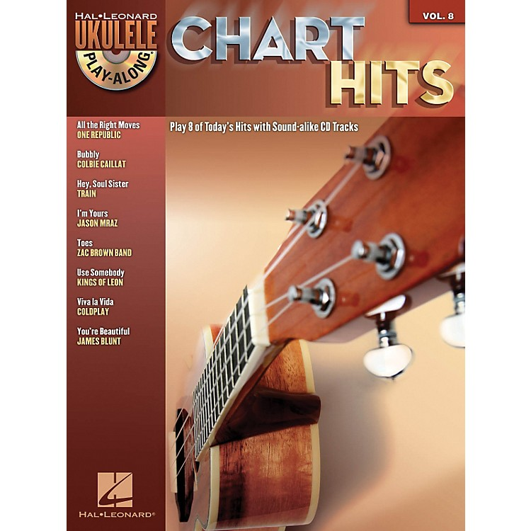 Hal Leonard Chart Hits - Ukulele Play-Along Series Volume 8 Book/CD