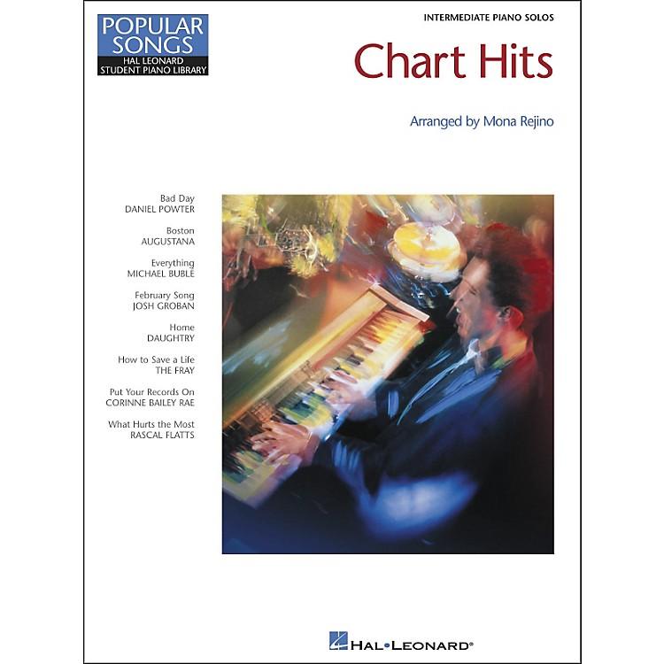 Hal LeonardChart Hits Intermediate Piano Solos Popular Songs Hal Leonard Student Piano Library by Mona Rejino