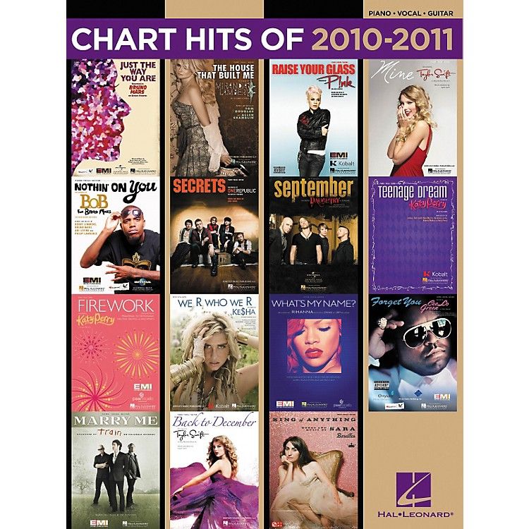Hal LeonardChart Hits Of 2010-2011 PVG Songbook