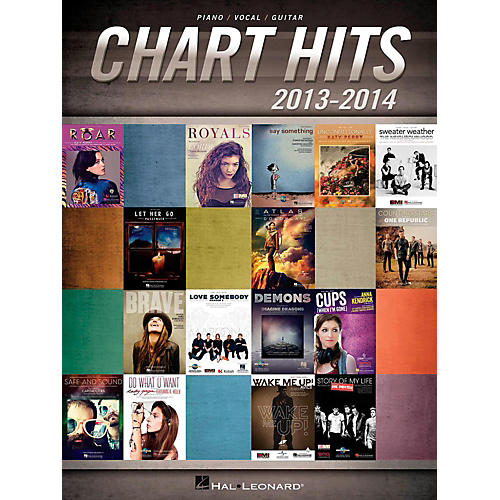 Hal Leonard Chart Hits Of 2013-2014 for Piano/Vocal/Guitar Songbook-thumbnail