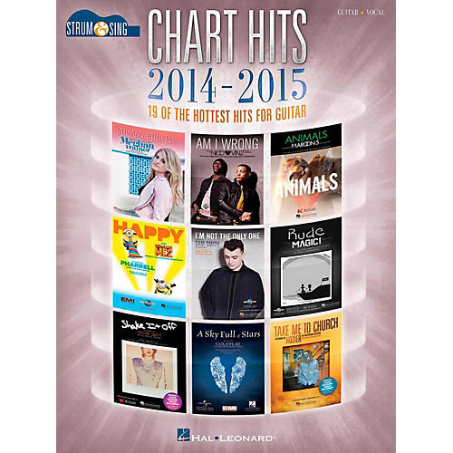 Hal Leonard Chart Hits Of 2014-2015 - Strum & Sing Guitar-thumbnail