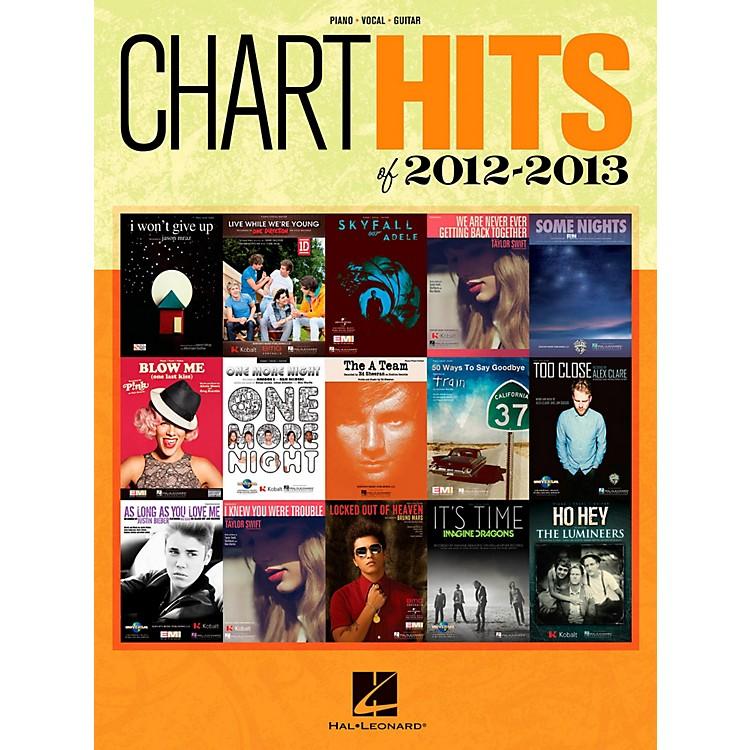 Hal LeonardChart Hits of 2012-2013 Piano/Vocal/Guitar Songbook
