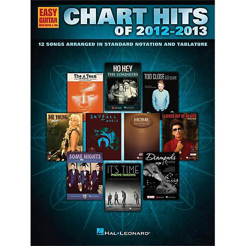Hal Leonard Chart Hits of 2012-2013 for Easy Guitar Tab