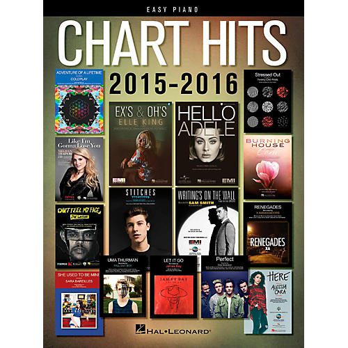 Hal Leonard Chart Hits of 2015-2016 for Easy Piano-thumbnail
