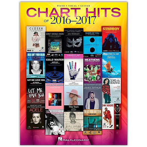 Hal Leonard Chart Hits of 2016 - 2017 P/V/G Piano/Vocal/Guitar-thumbnail