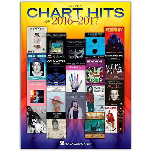 Hal Leonard Chart Hits Of 2016