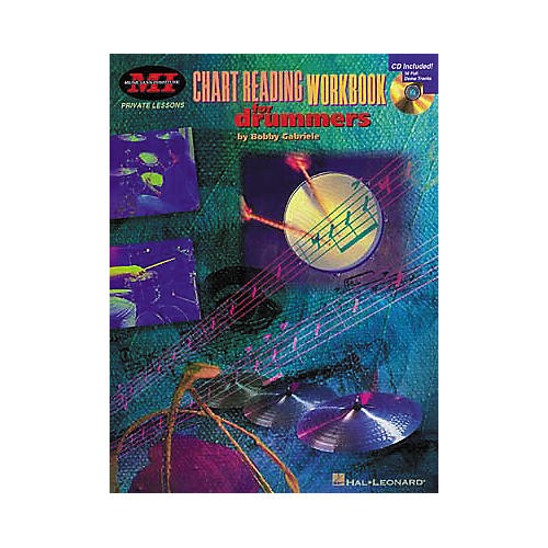 Hal Leonard Chart Reading Workbook for Drummers Book/CD