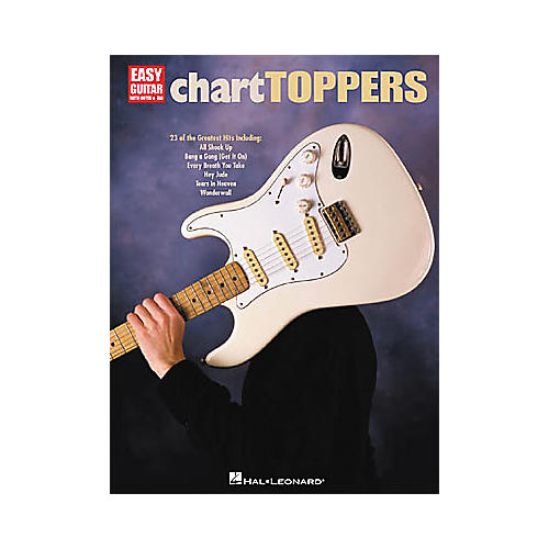 Hal Leonard Chart Toppers Easy Guitar Tab Songbook