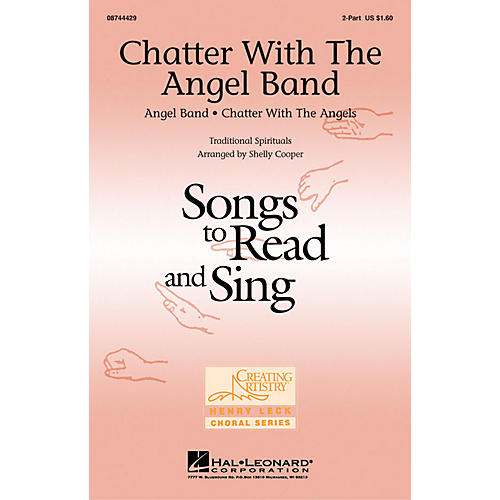 Hal Leonard Chatter with the Angel Band 2-Part arranged by Shelly Cooper