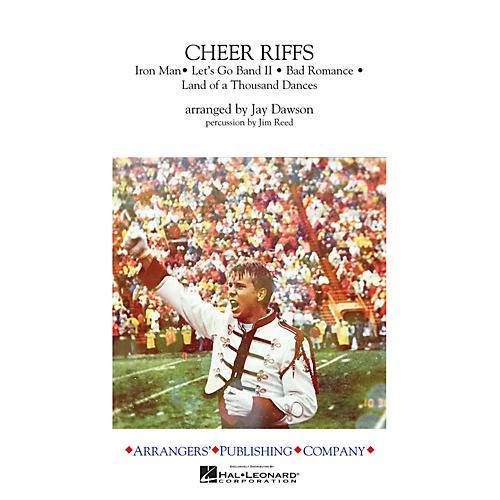 Arrangers Cheer Riffs Marching Band Level 2 Arranged by Jay Dawson-thumbnail