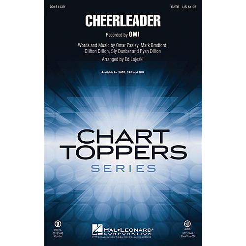 Hal Leonard Cheerleader SATB by Omi arranged by Ed Lojeski-thumbnail