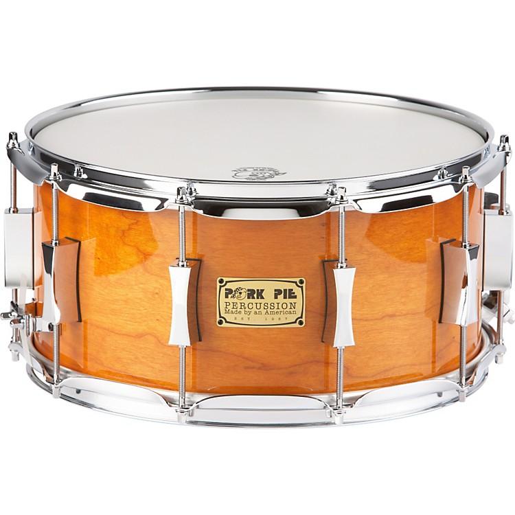 Pork PieCherry Pie Cherry/Bubinga  Snare Drum14x7Candy Orange