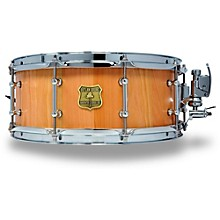 OUTLAW DRUMS Cherry Stave Snare Drum with Chrome Hardware 14 x 5.5 in. Natural