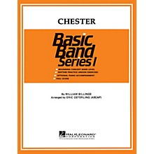 Hal Leonard Chester Concert Band Level 1 Arranged by Eric Osterling