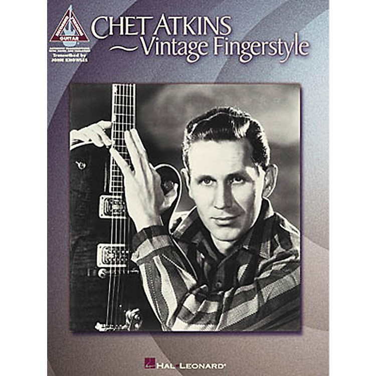 Hal LeonardChet Atkins - Vintage Fingerstyle Guitar Tab Songbook