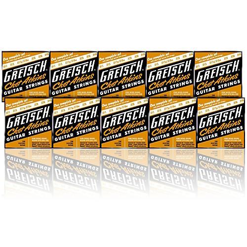 Gretsch Guitars Chet Atkins Pure Nickel 11-48 Electric Guitar Strings 10 Pack