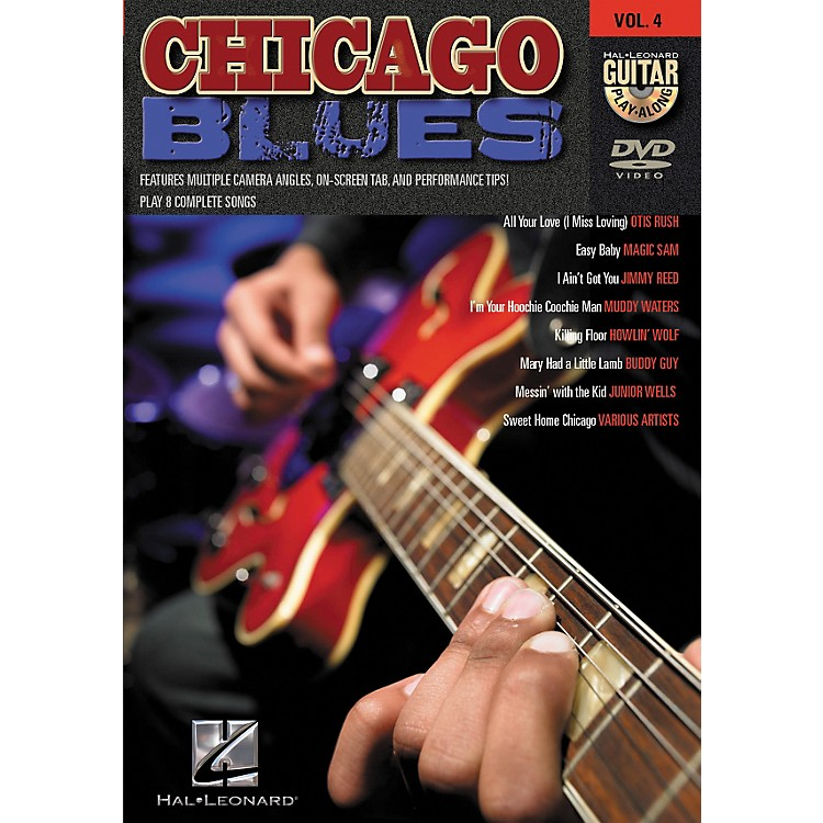 Hal Leonard Chicago Blues Guitar Play-Along Series Volume 4 DVD