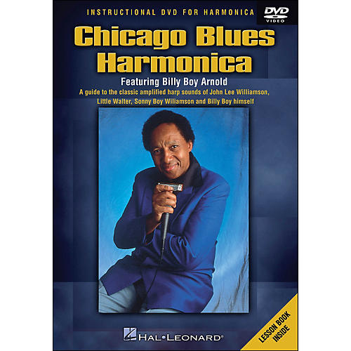 Hal Leonard Chicago Blues Harmonica DVD - Featuring Billy Boy Arnold
