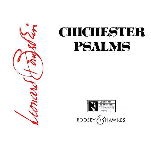 Boosey and Hawkes Chichester Psalms Boosey & Hawkes Scores/Books Series Softcover Composed by Leonard Bernstein-thumbnail