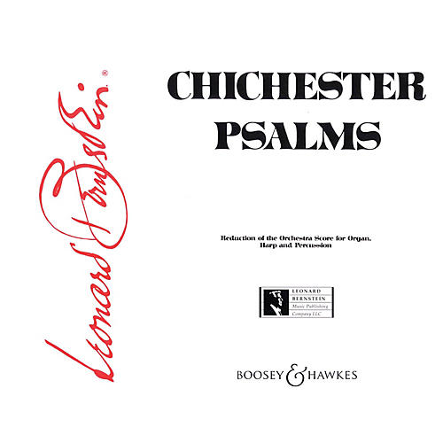 Boosey and Hawkes Chichester Psalms (Reduced Orchestration Parts) Parts composed by Leonard Bernstein-thumbnail