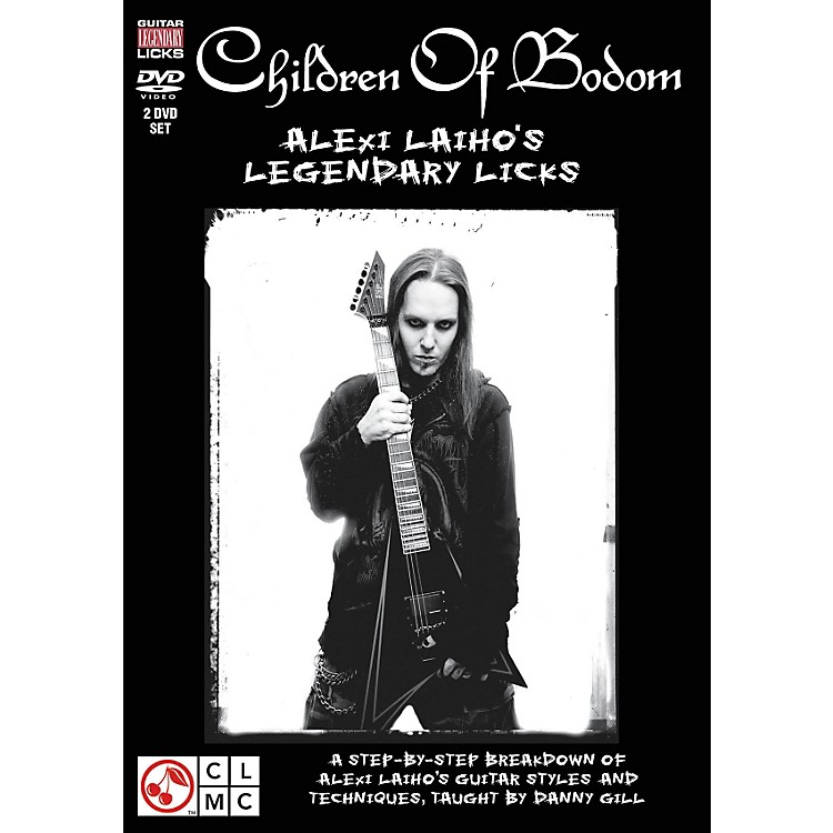 Hal Leonard Children Of Bodom - Alexi Laiho's Legendary Licks (2-DVD Set)