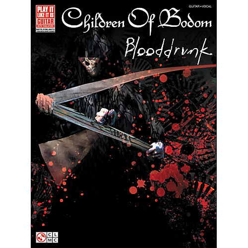 Cherry Lane Children Of Bodom: Blooddrunk Tab Book
