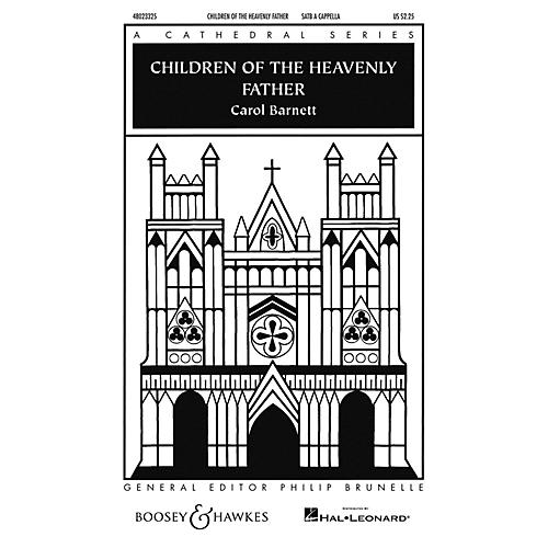 Boosey and Hawkes Children of the Heavenly Father (Cathedral Series) SATB a cappella arranged by Carol Barnett-thumbnail