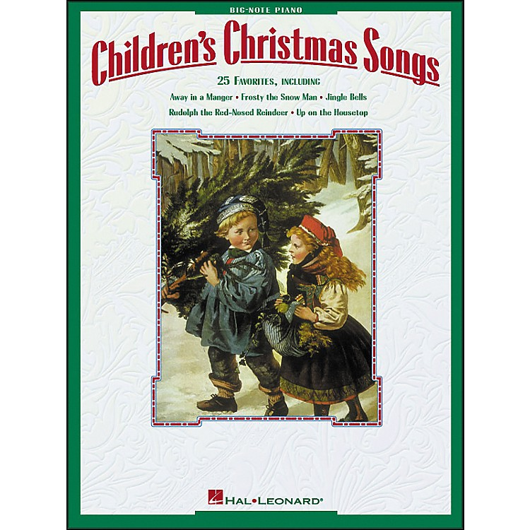 Hal Leonard Children's Christmas Songs for Big Note Piano