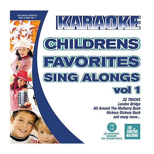 The Singing Machine Children's Favorite Sing Alongs Vol. 1 Karaoke CD+G-thumbnail
