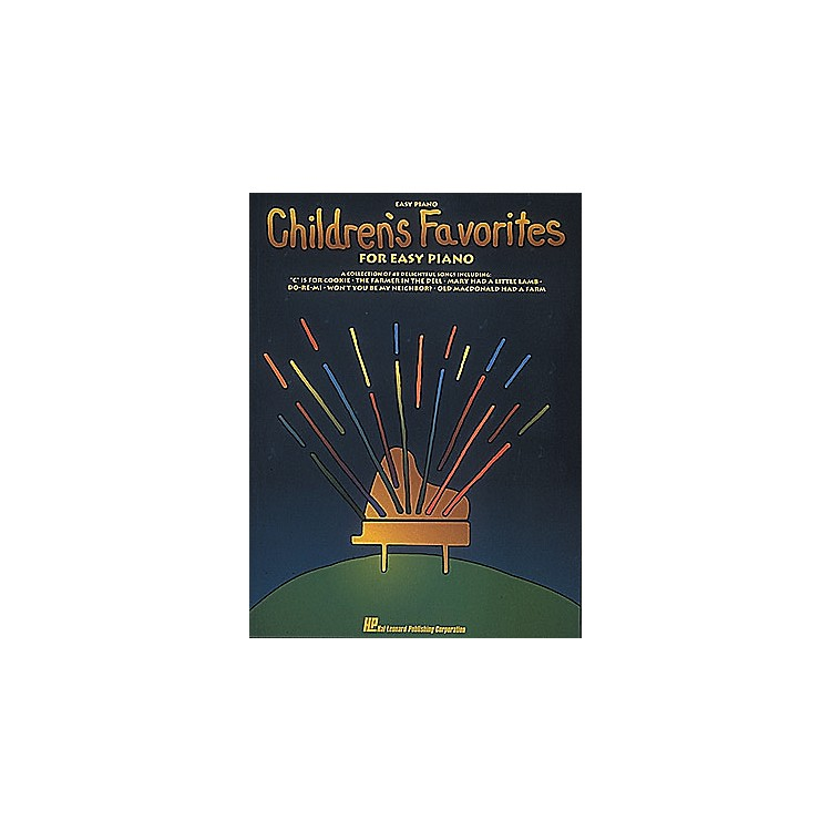 Hal Leonard Children's Favorites For Easy Piano