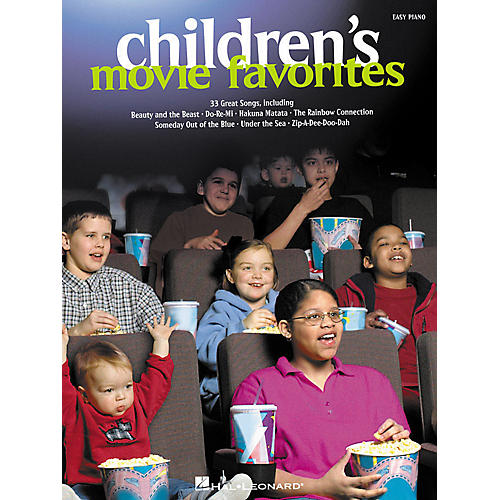 Hal Leonard Children's Movie Favorites For Easy Piano