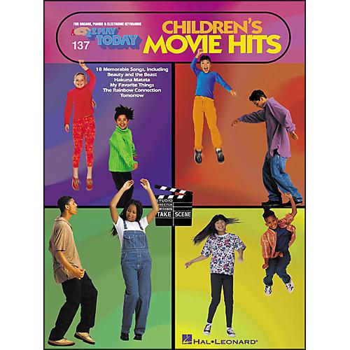 Hal Leonard Children's Movie Hits E-Z Play 137